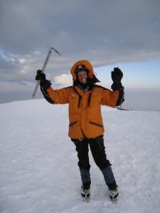 Me on top of Rainier